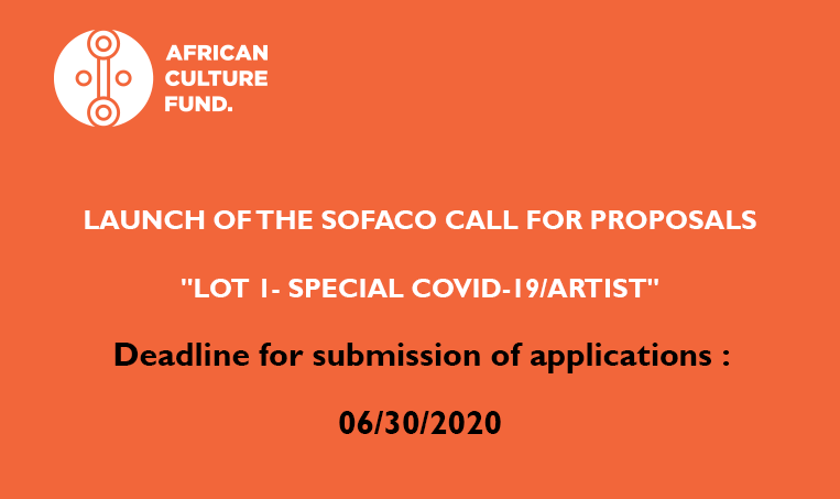 Solidarity Fund for Artists and Cultural Organizations in Africa (SOFACO)